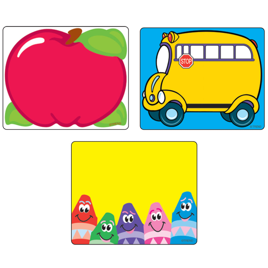 Trend Enterprises Classroom Classic Labels Variety Pack