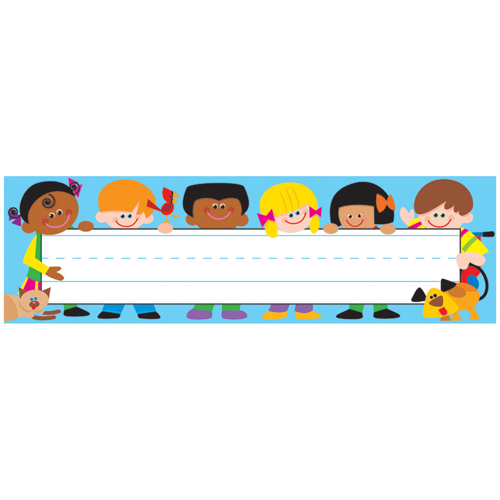 Trend Enterprises TREND Kids Desk Toppers® Name Plates