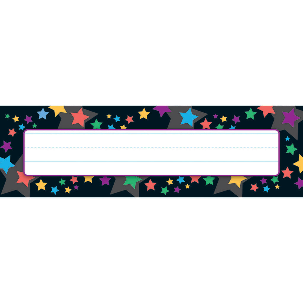 Trend Enterprises Stargazer Desk Toppers® Name Plates