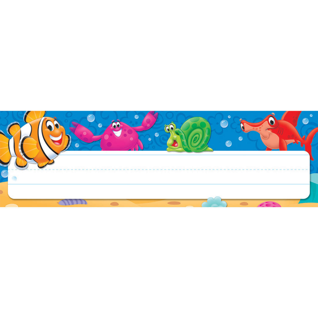 Trend Enterprises Sea Buddies™ Desk Toppers® Name Plates