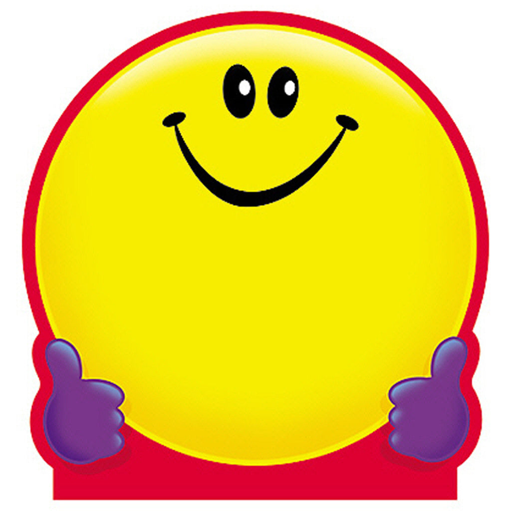 Trend Enterprises Smiley Face Notepad