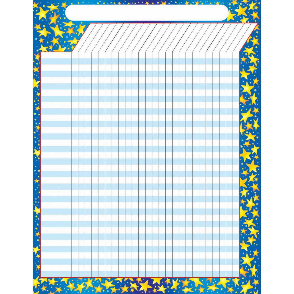 Trend Enterprises Star Brights Incentive Chart–Large