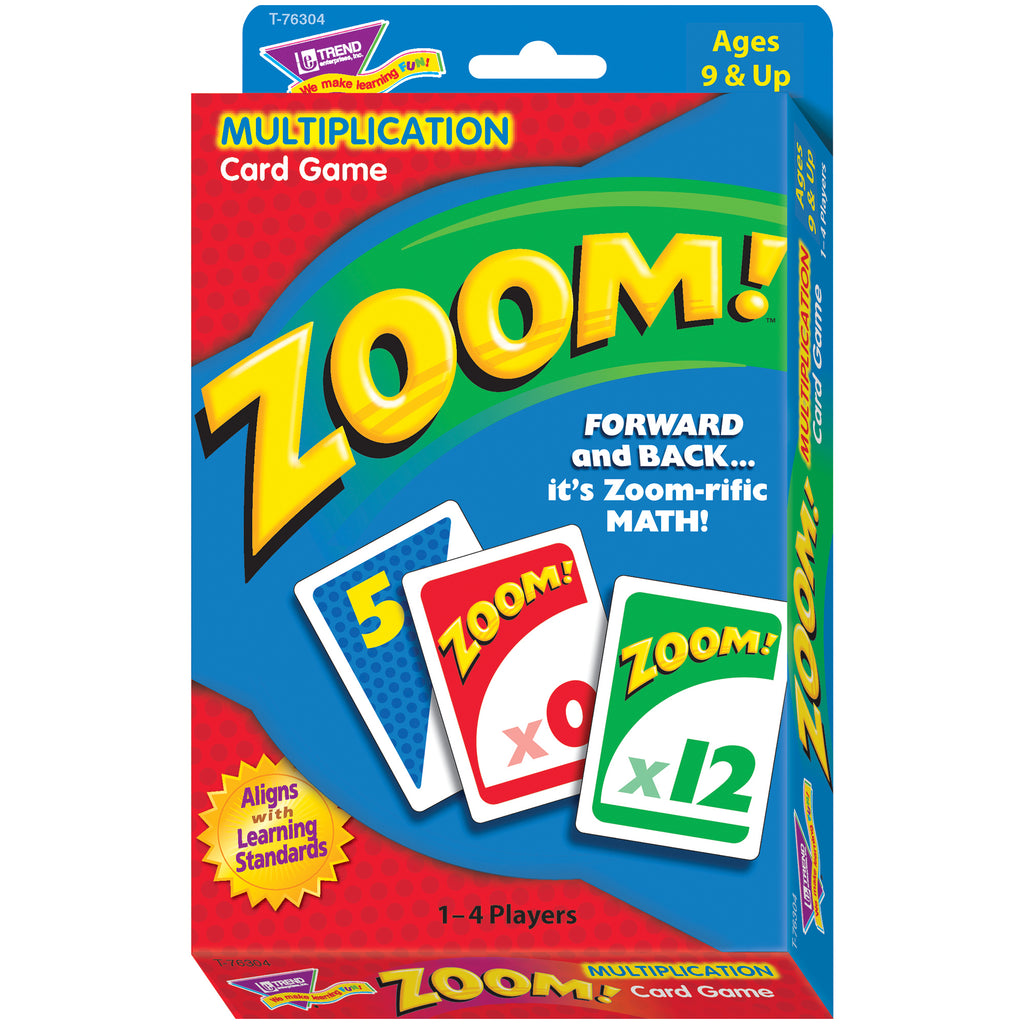 Trend Enterprises Zoom!™ Learning Game