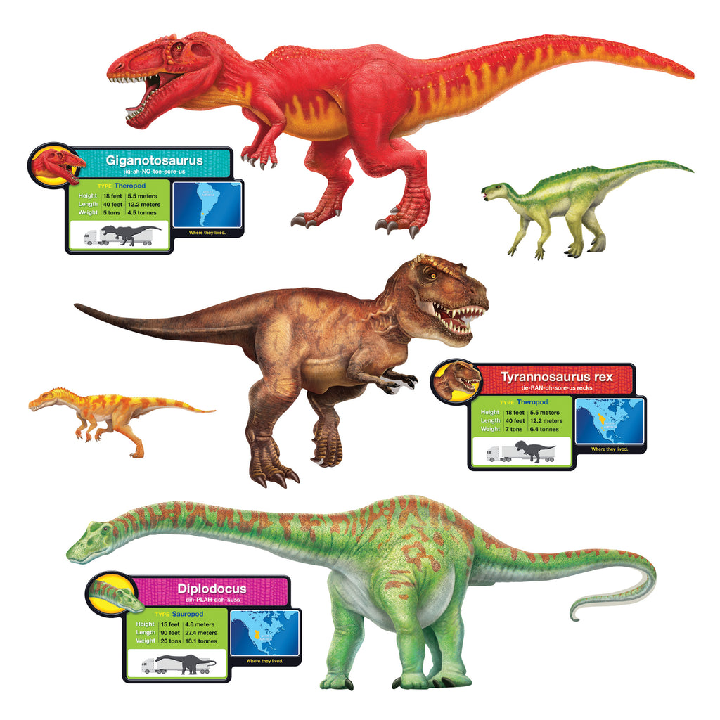 Trend Enterprises Discovering Dinosaurs™ Bulletin Board Set