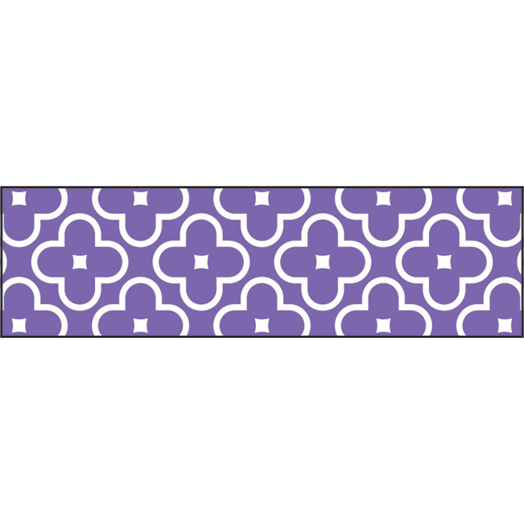 Trend Enterprises Floral Purple Bolder Borders®