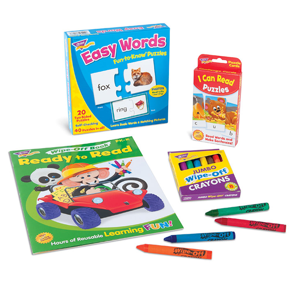 Trend Enterprises Early Reading Learning Fun Pack