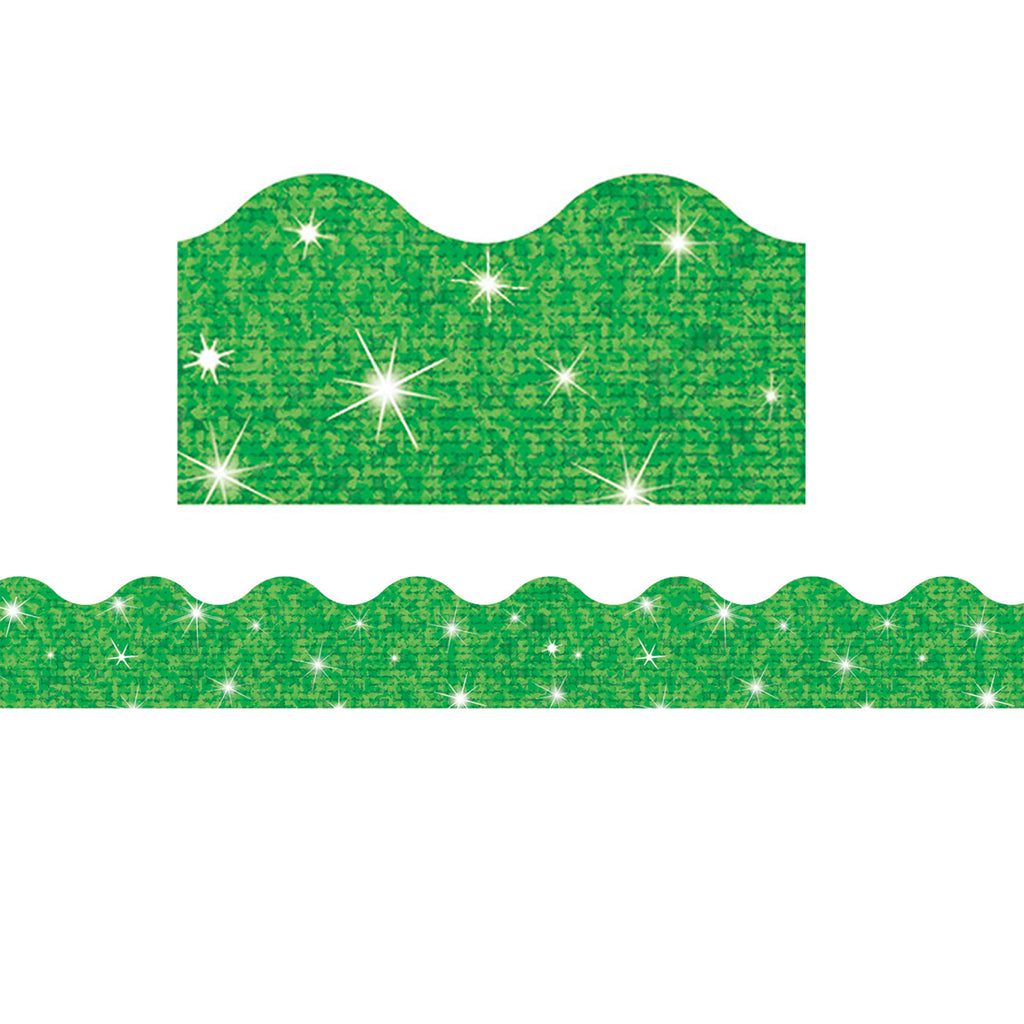 Trend Enterprises Green Terrific Trimmers®–Sparkle