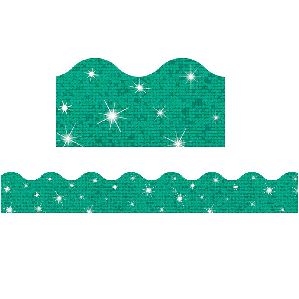 Trend Enterprises Teal Terrific Trimmers® – Sparkle