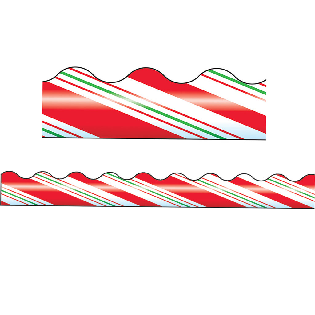 Trend Enterprises Candy Cane Stripes Terrific Trimmers®