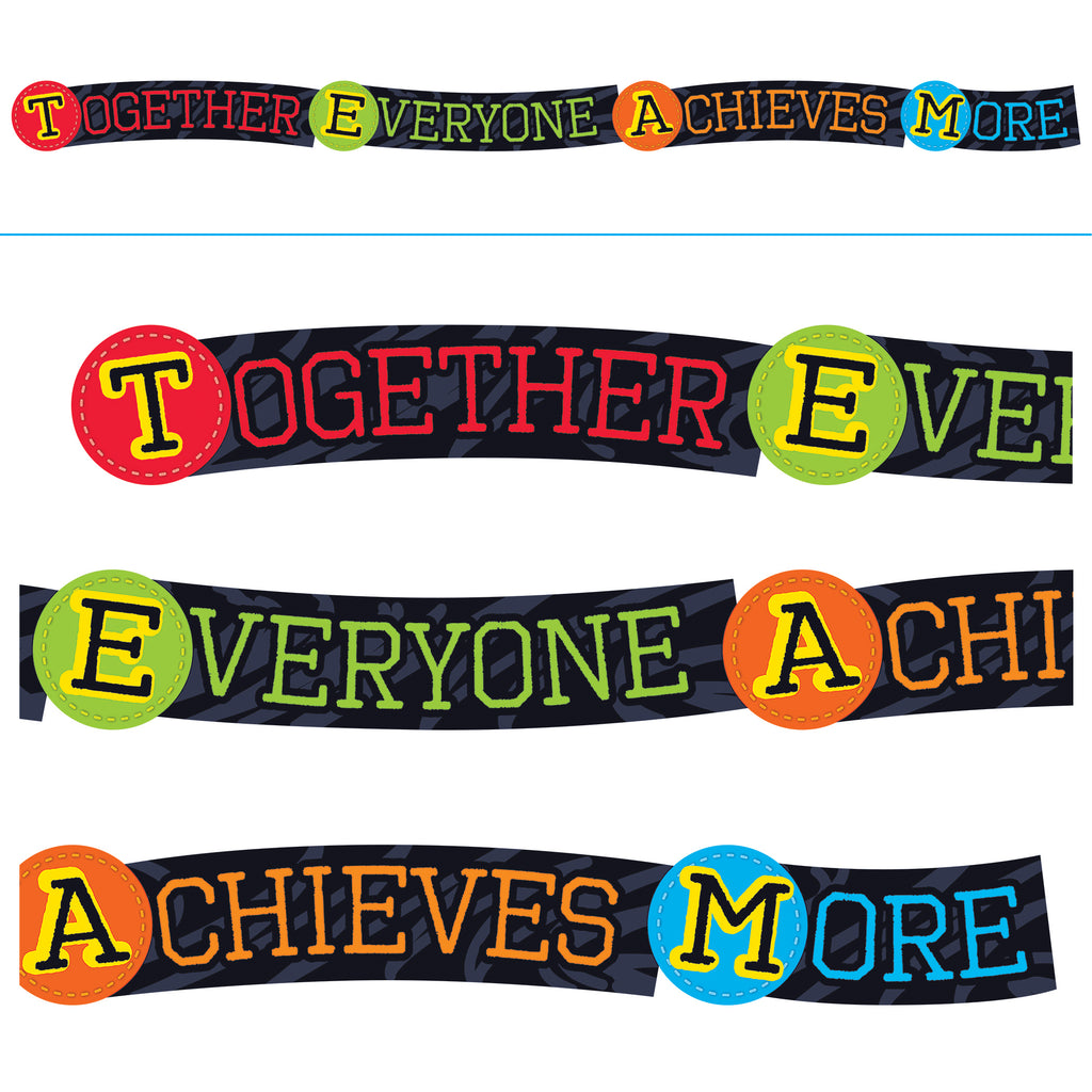 Trend Enterprises Together Everyone Achieves More ARGUS® Banner