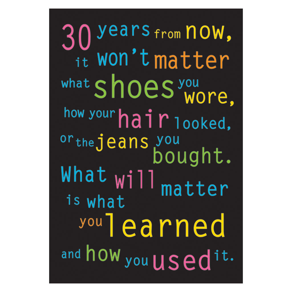 Trend Enterprises 30 years from now... ARGUS® Poster