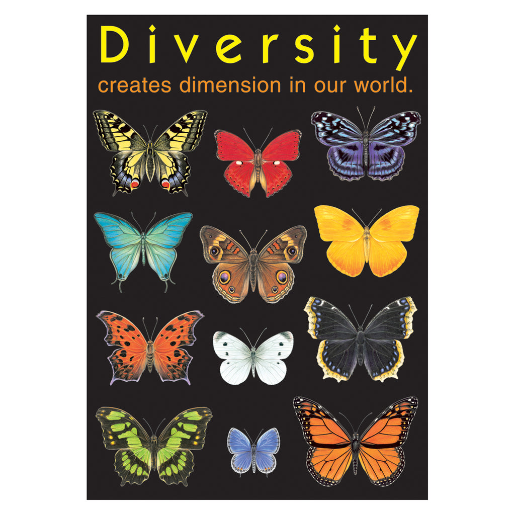 Trend Enterprises Diversity creates dimension… ARGUS® Poster
