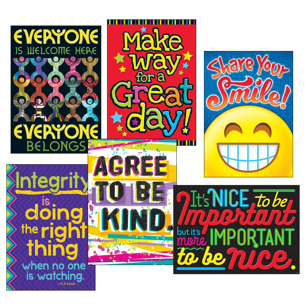 Trend Enterprises Kindess Matters ARGUS® Posters Combo Pack