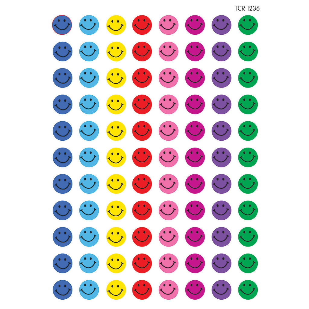 Teacher Created Resources Happy Faces Mini Stickers