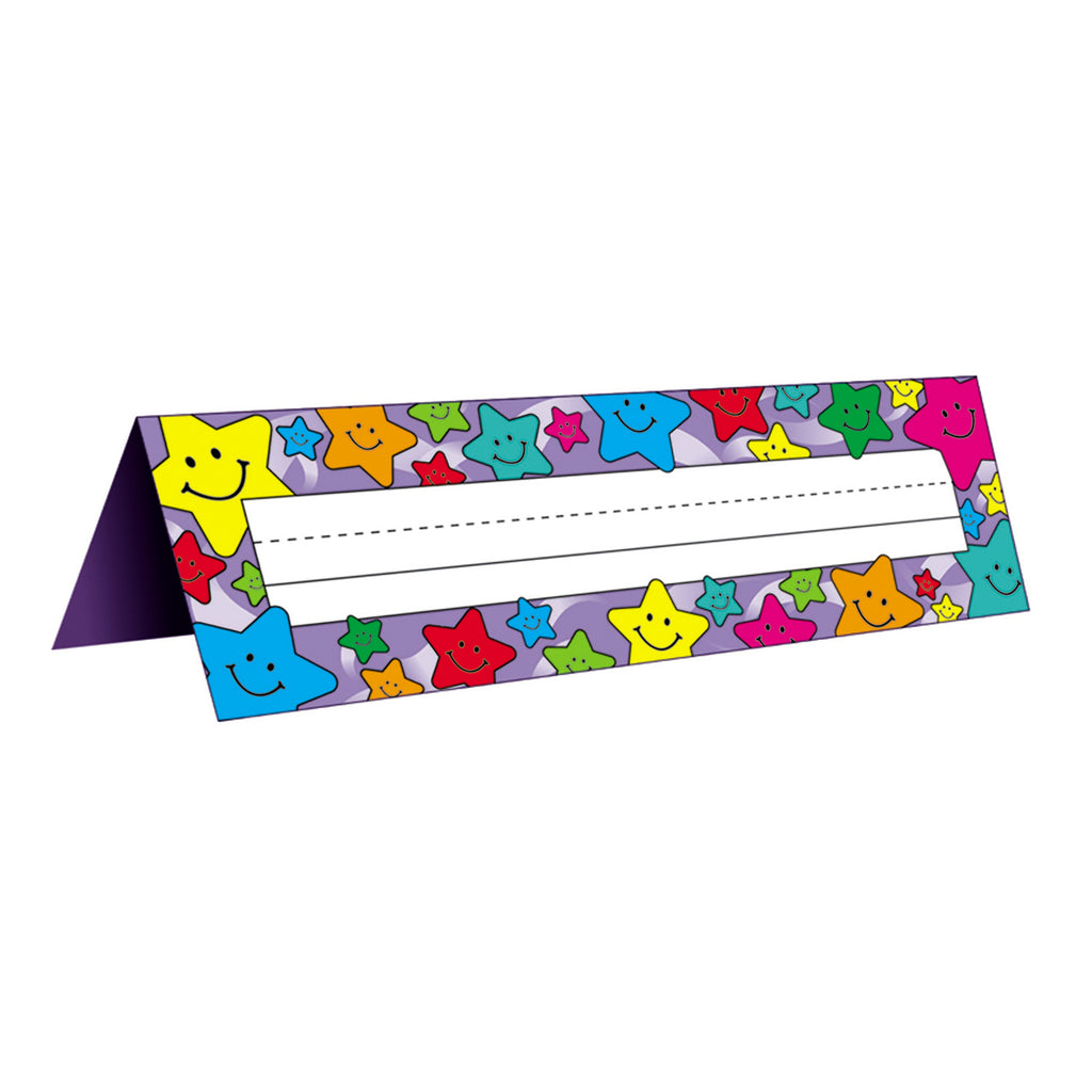 Teacher Created Resources Tented Happy Stars Name Plates