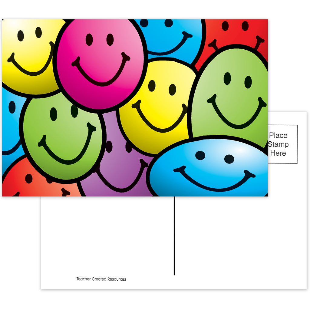 Teacher Created Resources Smiley Faces Postcards