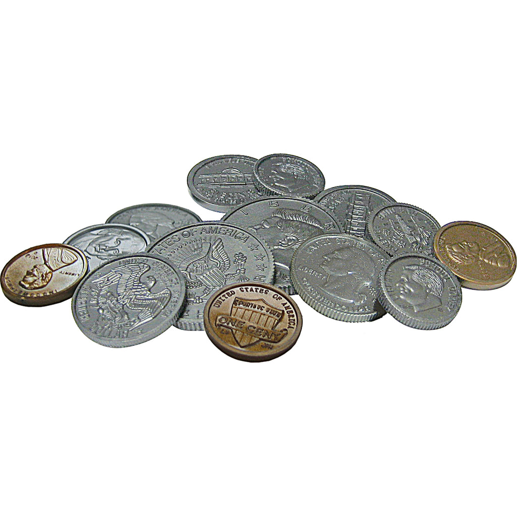 Teacher Created Resources Play Money: Assorted Coins