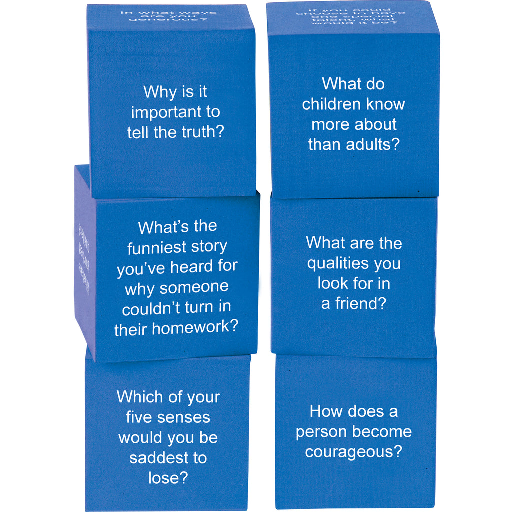 Teacher Created Resources Foam Cubes: Life Questions