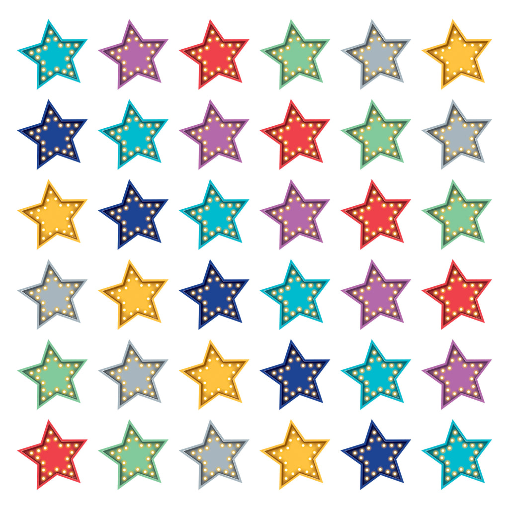 Teacher Created Resources Marquee Stars Mini Accents