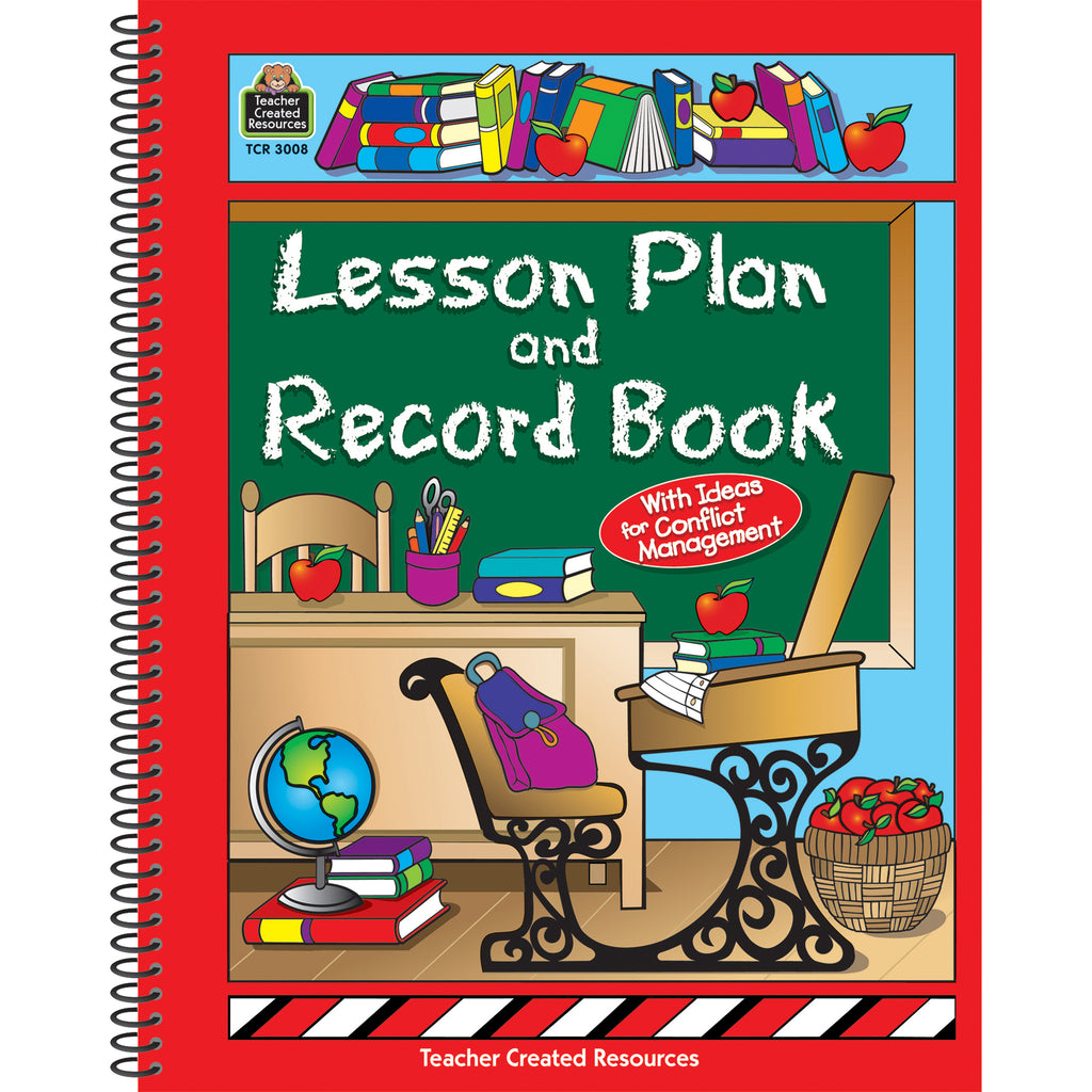 Teacher Created Resources Classroom Theme Lesson Plan and Record Book