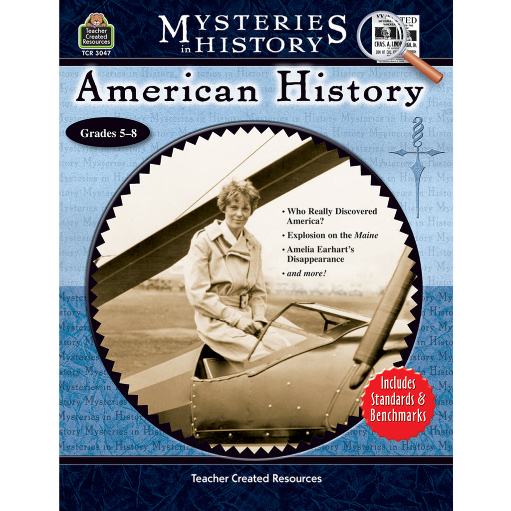 Teacher Created Resources Mysteries in History: American History