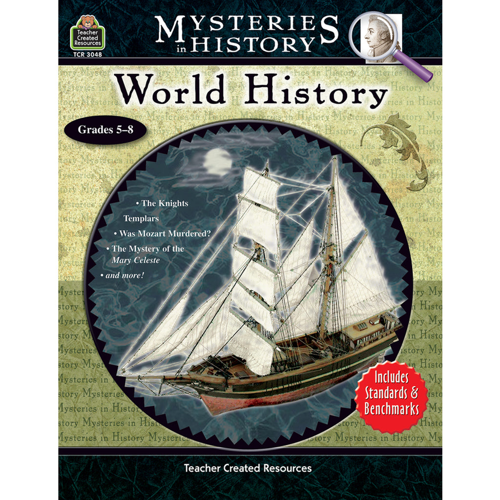 Teacher Created Resources Mysteries in History: World History