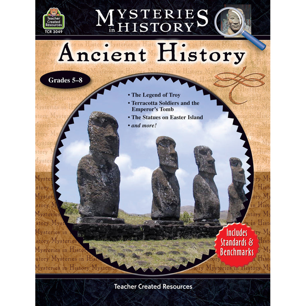 Teacher Created Resources Mysteries in History: Ancient History