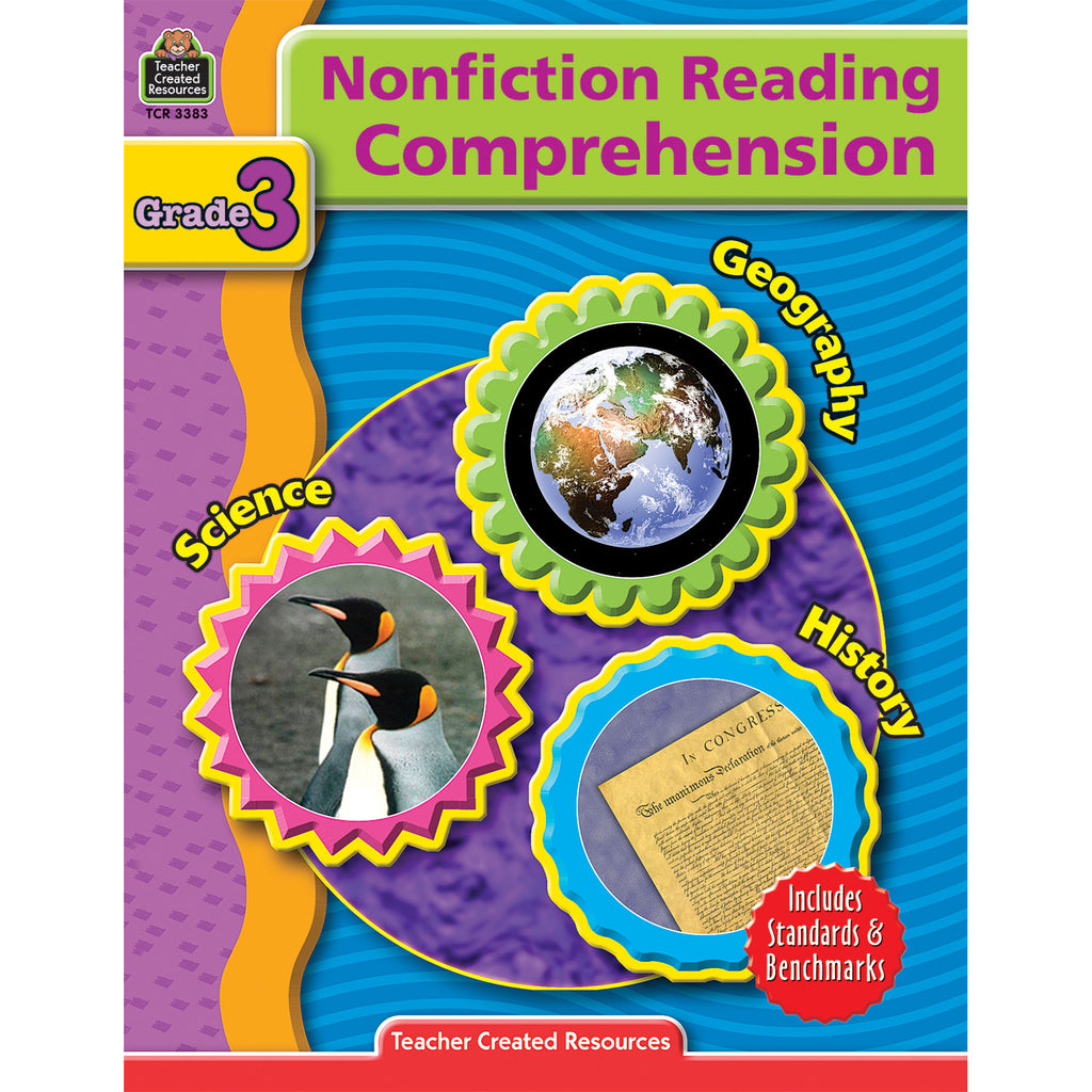Teacher Created Resources Nonfiction Reading Comprehension Grade 3