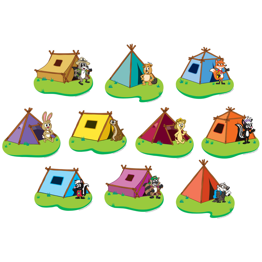 Teacher Created Resources Ranger Rick Tents Accents
