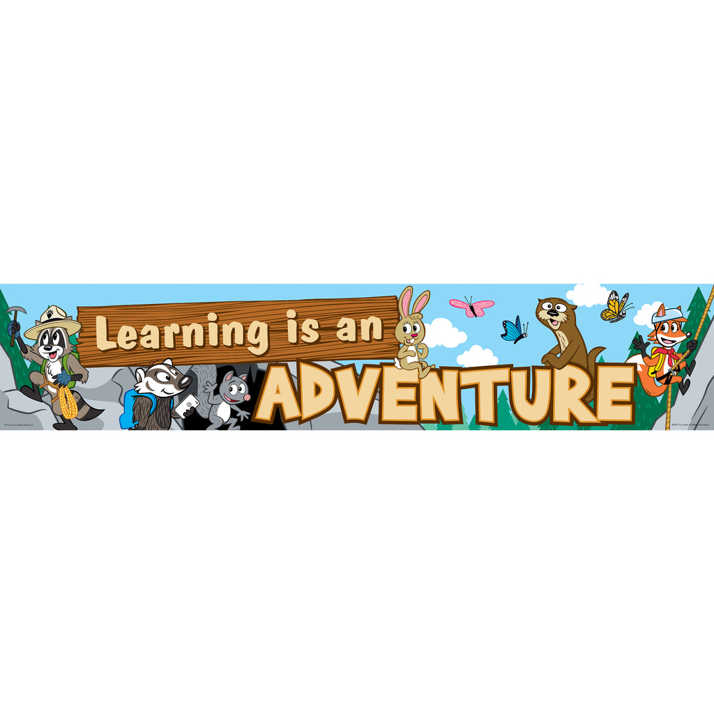 Teacher Created Resources Ranger Rick Learning is an Adventure Banner