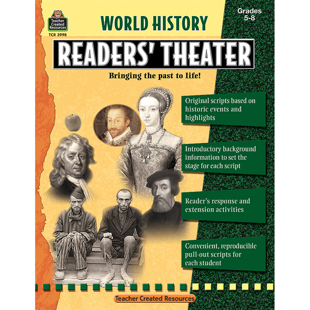 Teacher Created Resources World History Readers' Theater Grade 5 & up