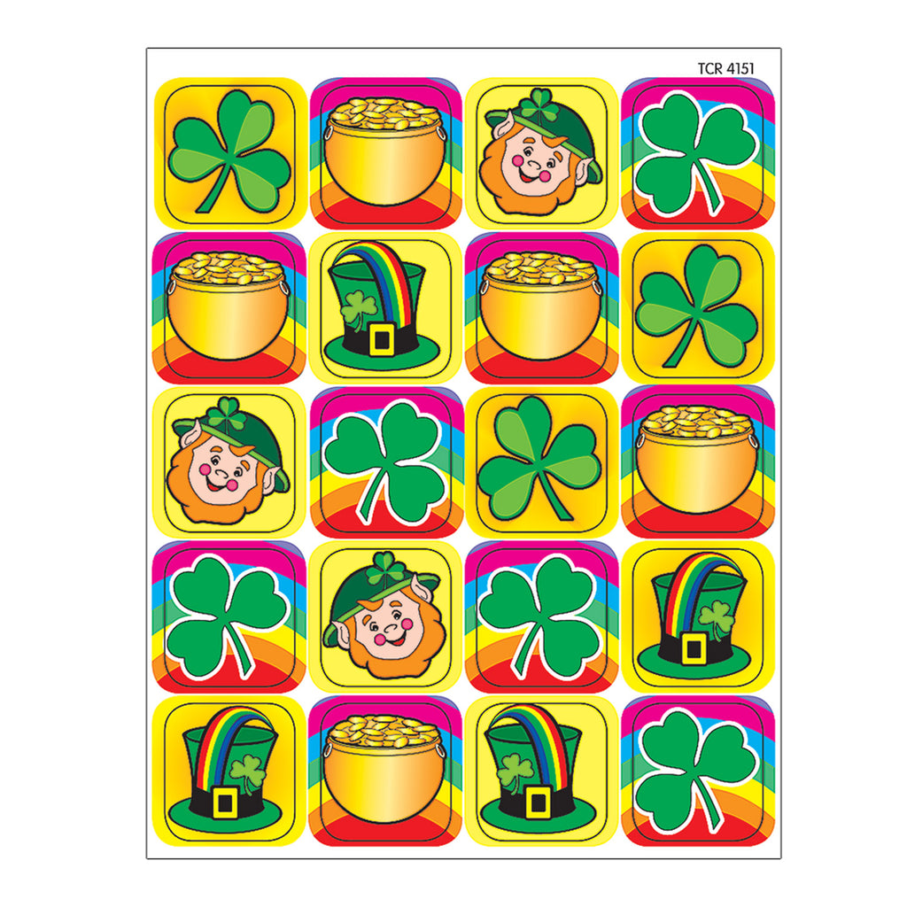 Teacher Created Resources St Patrick's Day Stickers