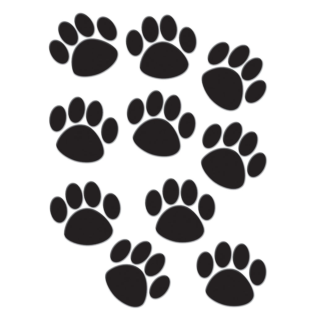 Teacher Created Resources Black Paw Prints Accents