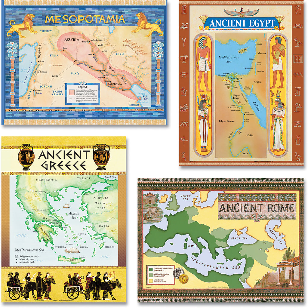 Teacher Created Resources Ancient Civilizations Bulletin Board Display Set