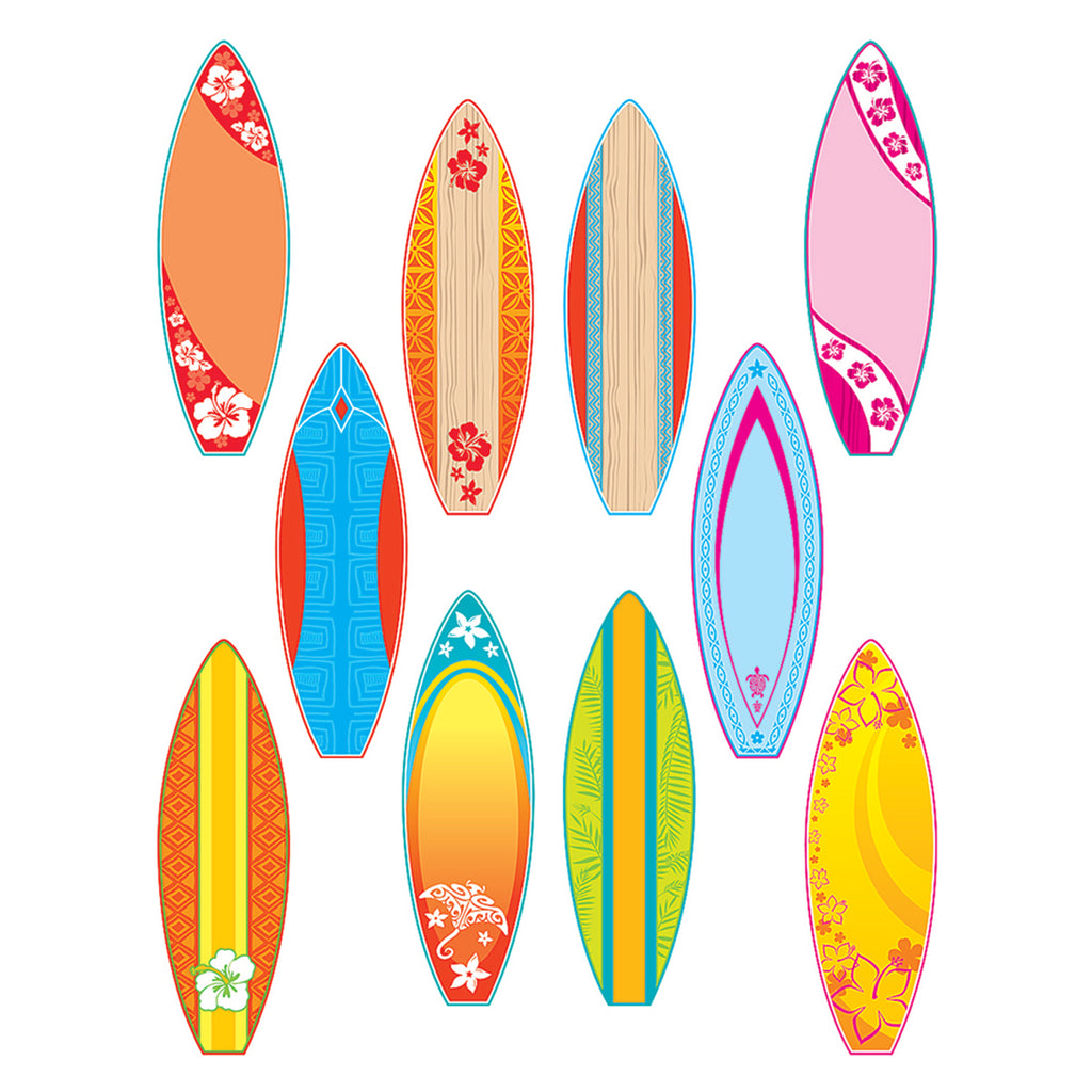 Teacher Created Resources Surfboards Accents (Surf's Up)