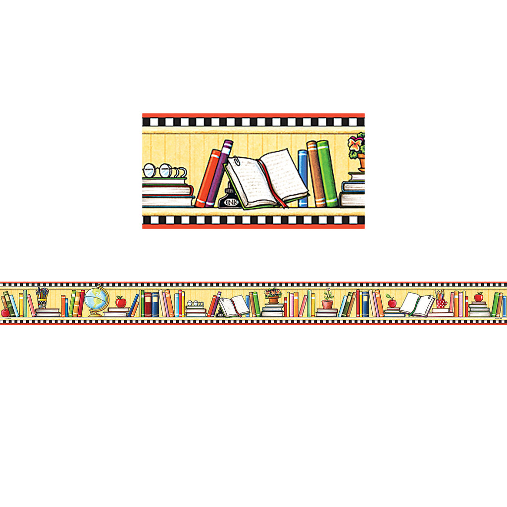 Teacher Created Resources We Love Books Straight Border Trim from Mary Engelbreit