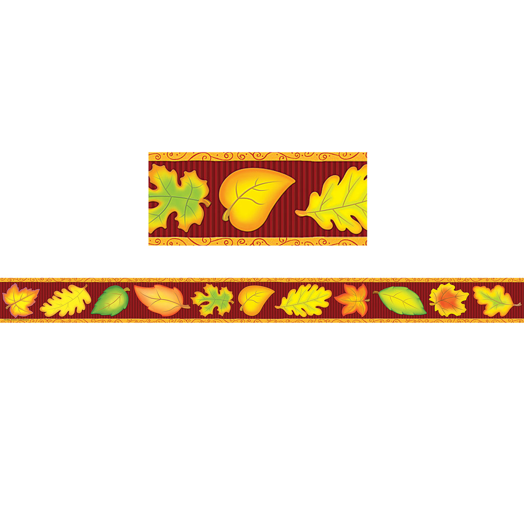 Teacher Created Resources Fall Straight Border Trim
