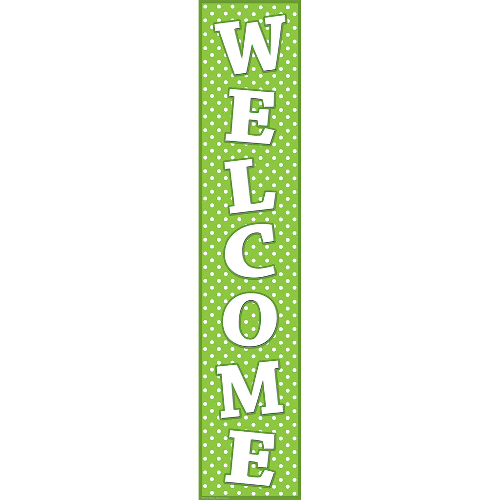 Teacher Created Resources Polka Dots Welcome Banner