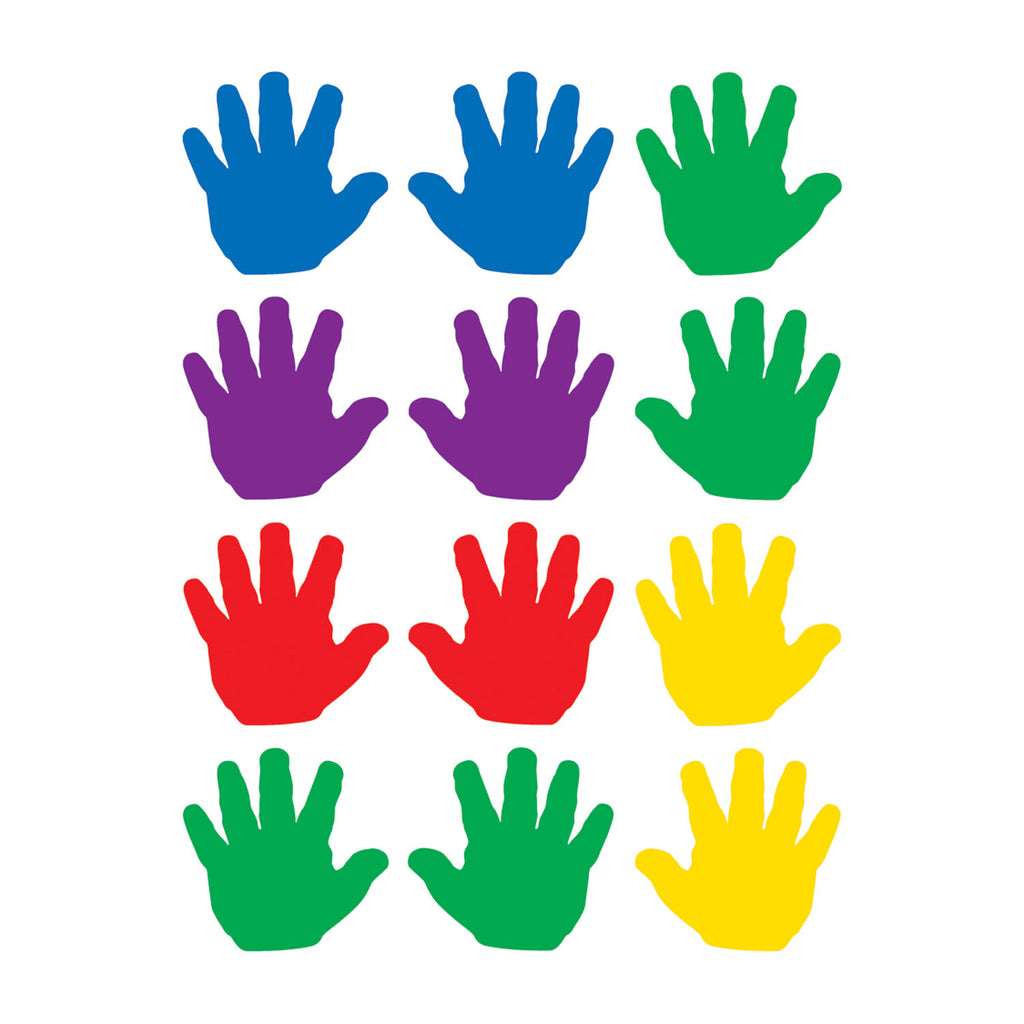 Teacher Created Resources Handprints Mini Accents