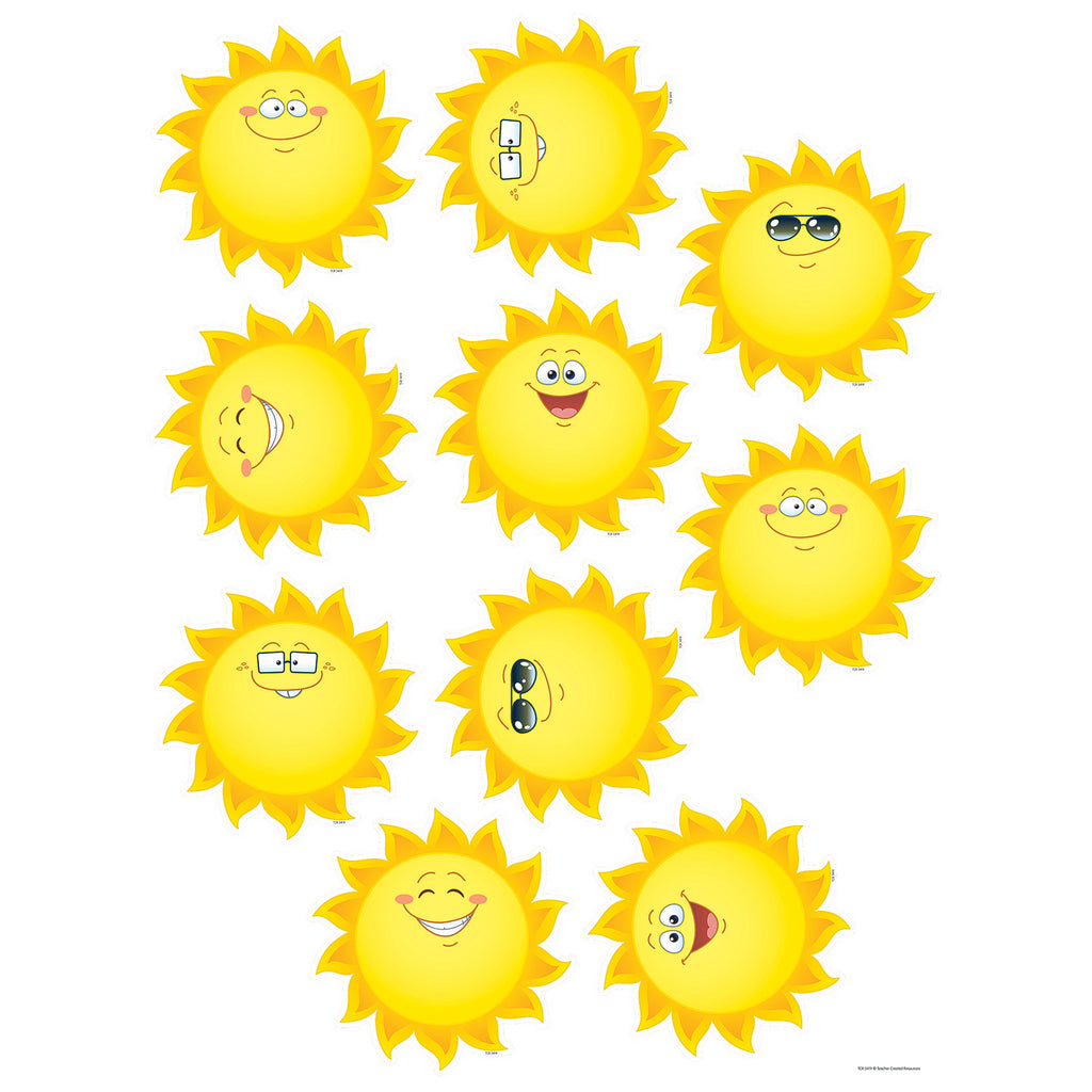 Teacher Created Resources Happy Suns Accents