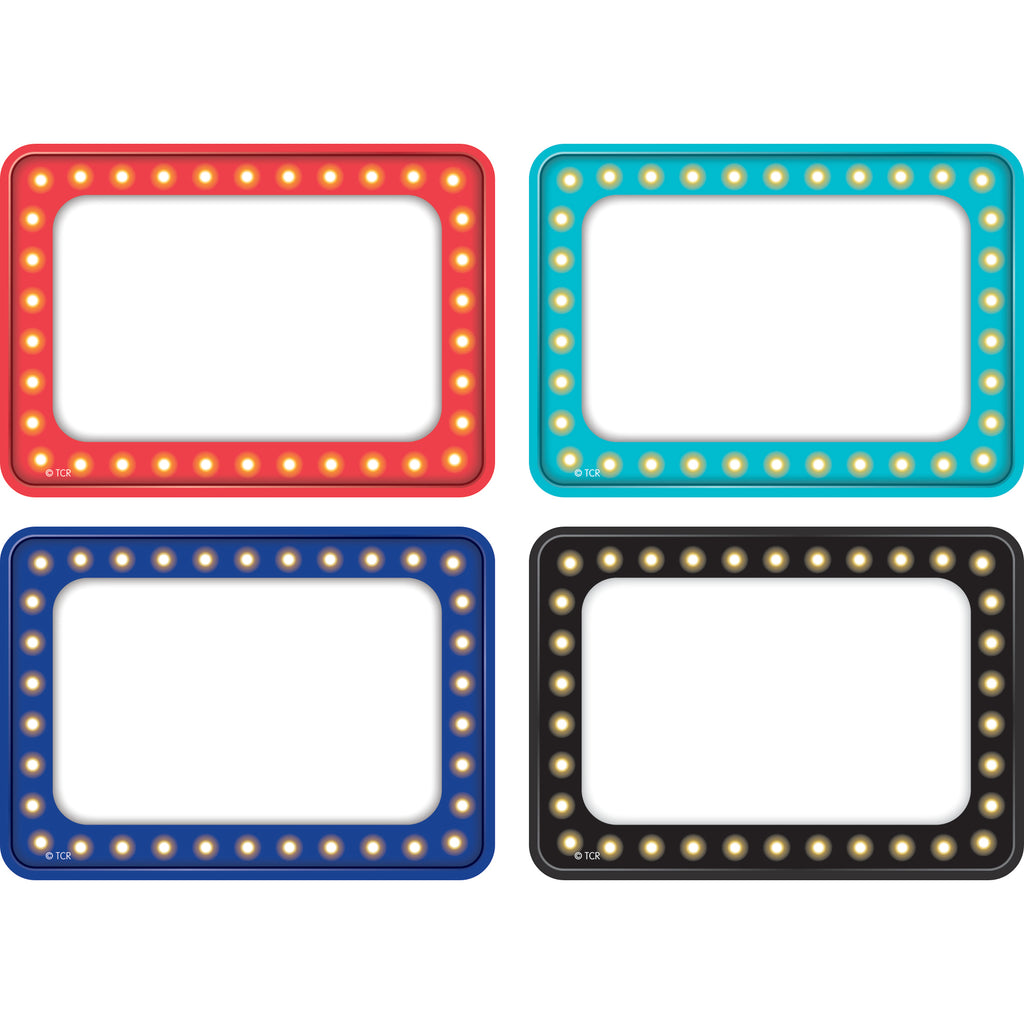 Teacher Created Resources Marquee Name Tags/Labels - Multi-Pack