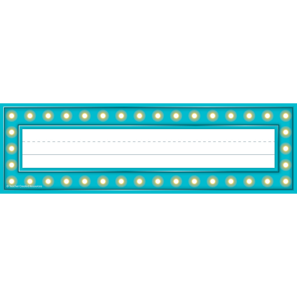 Teacher Created Resources Marquee Name Plates