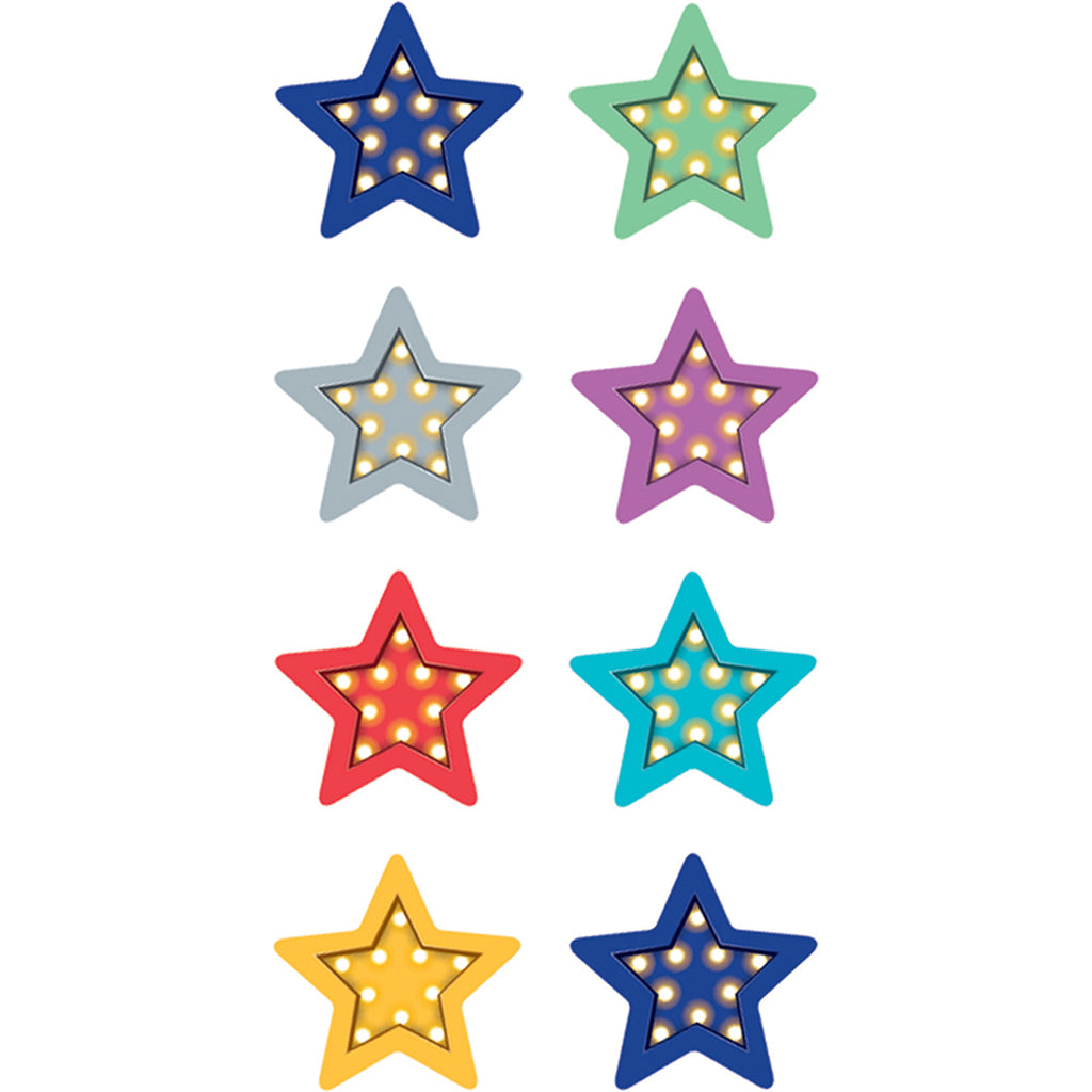 Teacher Created Resources Marquee Stars Mini Stickers