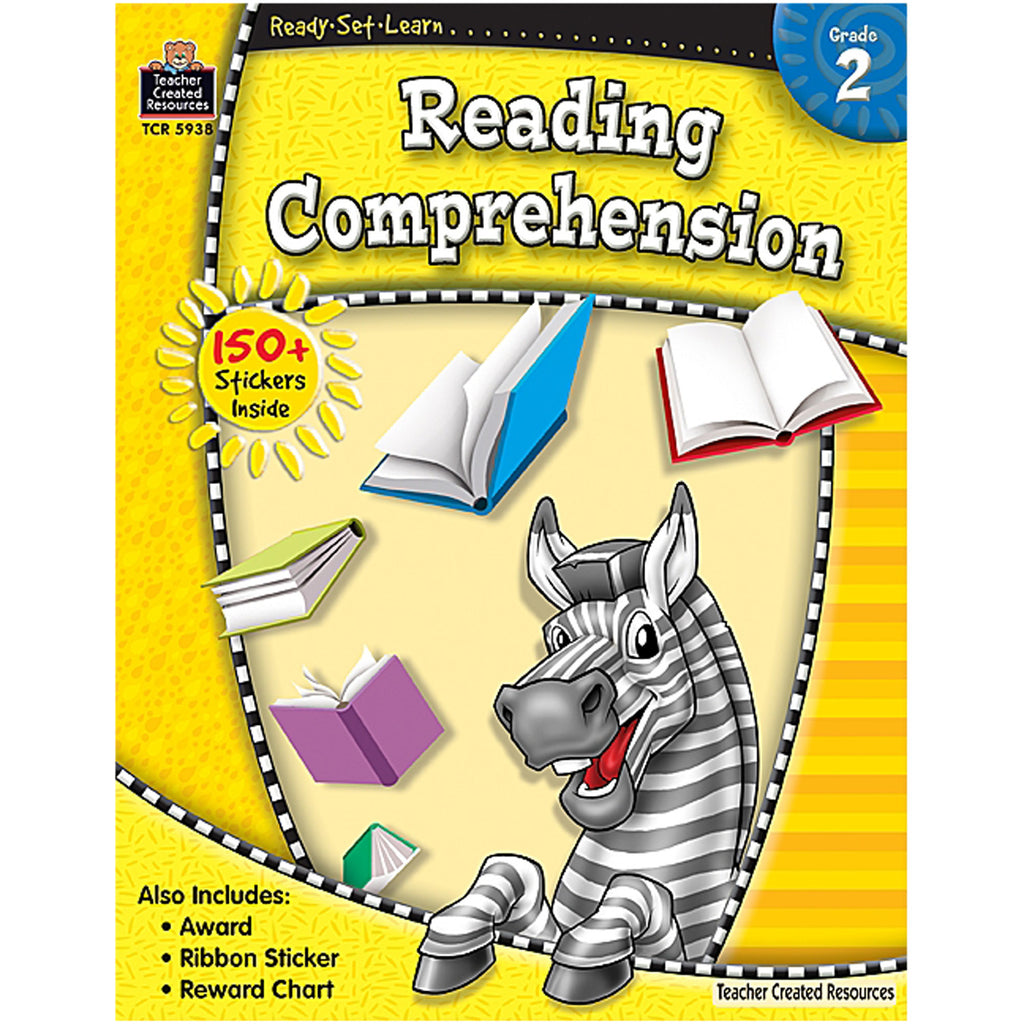 Teacher Created Resources Ready-Set-Learn: Reading Comprehension Grade 2