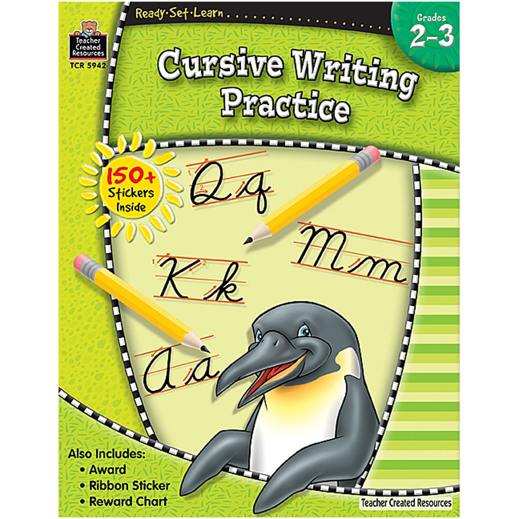 Teacher Created Resources Ready-Set-Learn: Cursive Writing Practice Grade 2-3