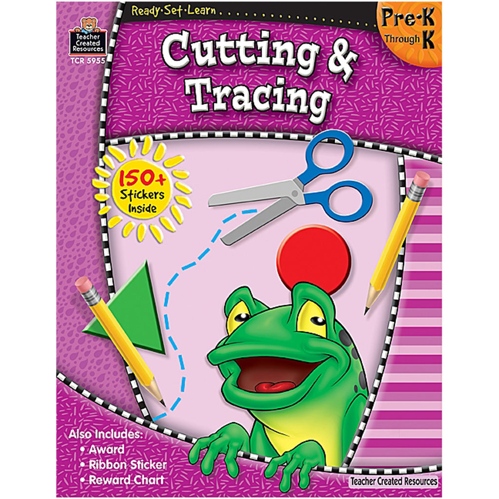 Teacher Created Resources Ready-Set-Learn: Cutting & Tracing PreK-K