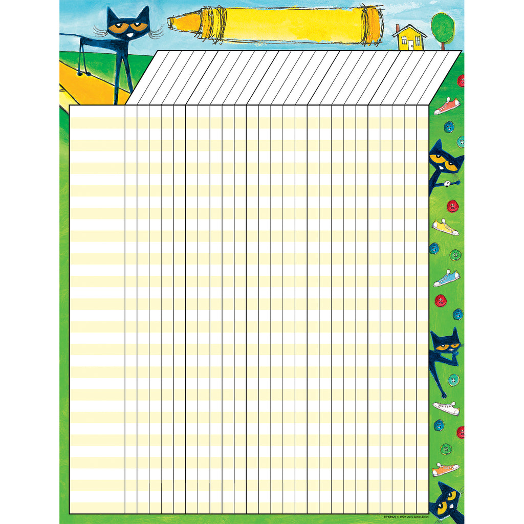 Teacher Created Resources Pete the Cat® Incentive Chart