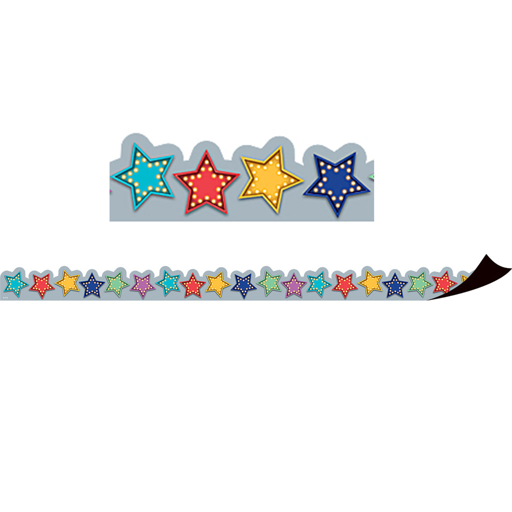 Teacher Created Resources Marquee Stars Magnetic Borders