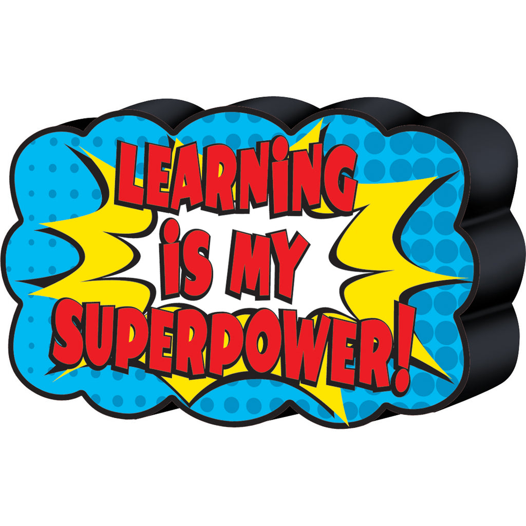 Teacher Created Resources Superhero Magnetic Whiteboard Eraser