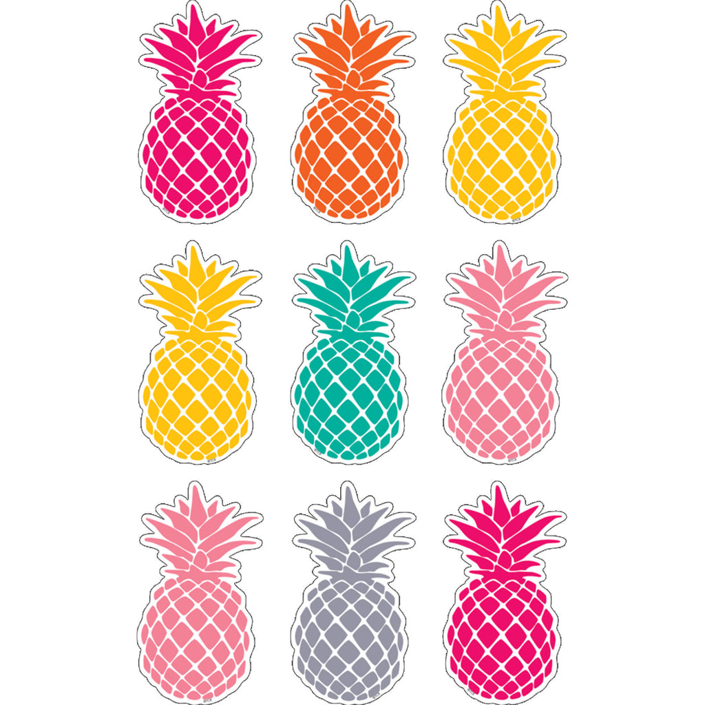 Teacher Created Resources Tropical Punch Pineapple Magnetic Accents